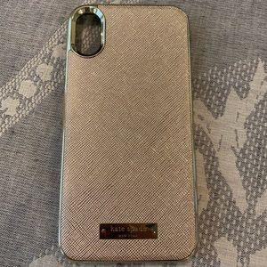 Kate spade iPhone X phone case
